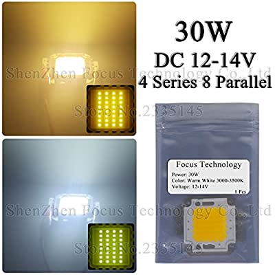 Warm white, 50W x 1 Pcs : LED Flood Light 20W 30W 50W Super Bright COB Diode SMD DC 12V No Need Driver For Floodlight Spotlight Outdoor Lighting