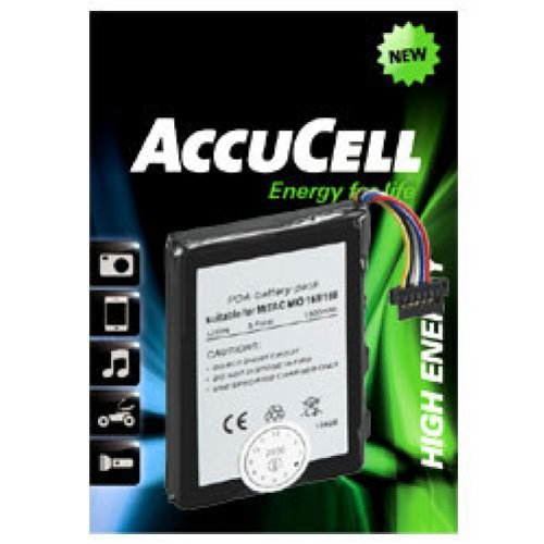 AccuCell battery Suitable for Lidl MyGuide Navigator 6500 XL: Amazon.es: Electrónica
