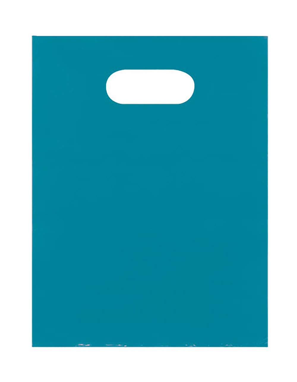 Teal Blue Merchandise Bags - Lightweight (9x12) - Pack of 1,000
