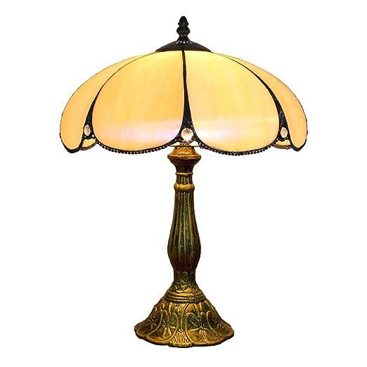 XYANZ Luz De Noche, Lámparas De Mesa De Estilo Tiffany Amarillo ...
