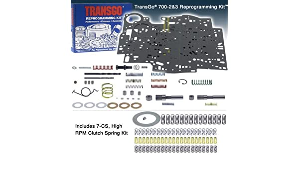 Amazon 700r4 Transgo Stage 2 Stage 3 Full Manual Shift Kit