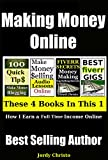Making Money Online: How I Earn A Full-Time Income On The Internet (How To Make Money Online, With Audible,Fiverr, Blogging and Affiliate Programs Book 1) Review