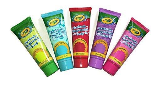 (Crayola Bathtub Finger Paint Soap 5 Pack)