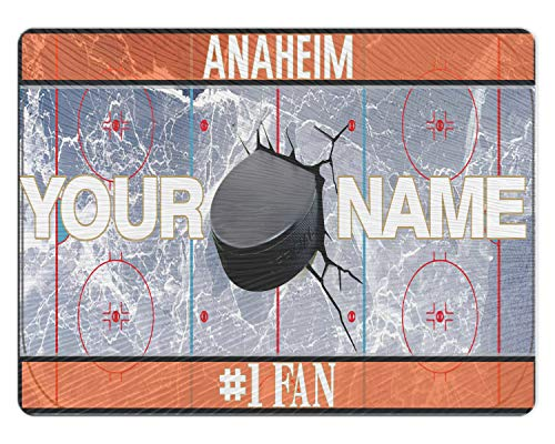 Glass Set Anaheim Ducks - BRGiftShop Personalized Custom Hockey Team Anaheim 11x15 Glass Cutting Board