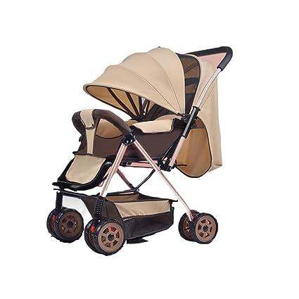 REMTI Sillas de paseo Carrito para bebés Siéntate Mentira Plegado ...
