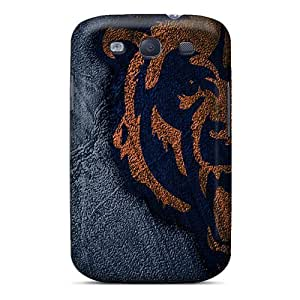 Samsung Galaxy S3 QMb16453zKKC Custom High Resolution Chicago Bears Pictures Anti-Scratch Cell-phone Hard Cover -JohnPrimeauMaurice