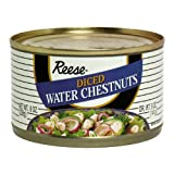 Reese Diced Waterchestnuts, 8-ounces (Pack of24)