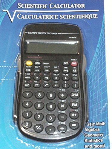 1 X 10-Digit Scientific Calculator