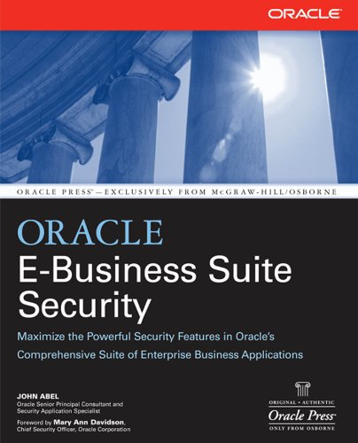 Oracle E-Business Suite Security (Oracle Press) Pdf