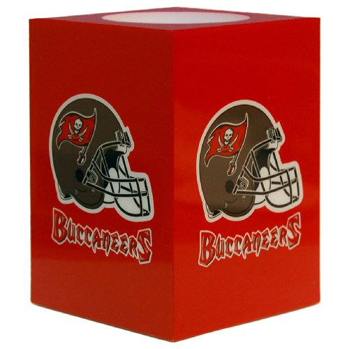 - NFL Tampa Bay Buccaneers Square Flameless Candle