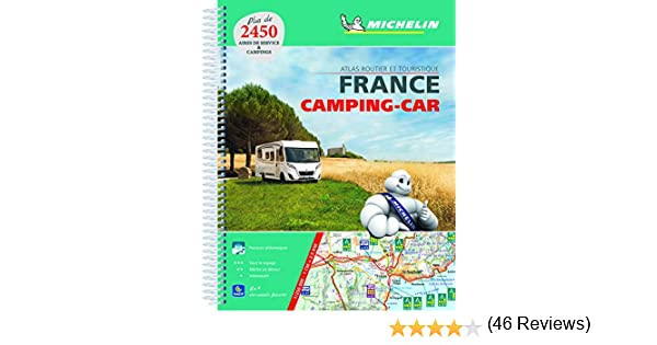 France Atlas Camping Car A4 2018 2018 Michelin Tourist Guides ...