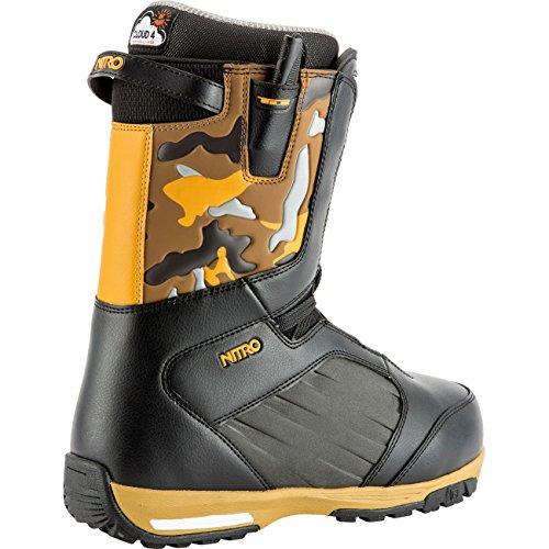 TLS schwarz orange Anthem Nitro camo Snowboardboot '19 PU6axxq5w