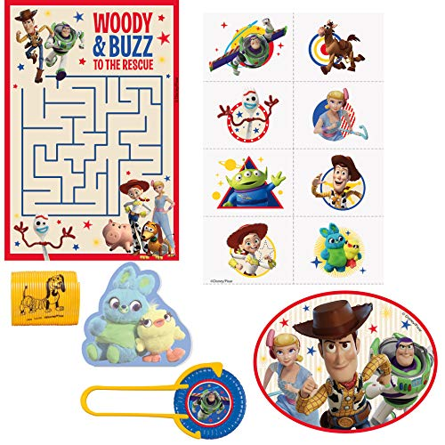 Unique Industries Disney Toy Story 4 Movie Favor Pack - 48ct -