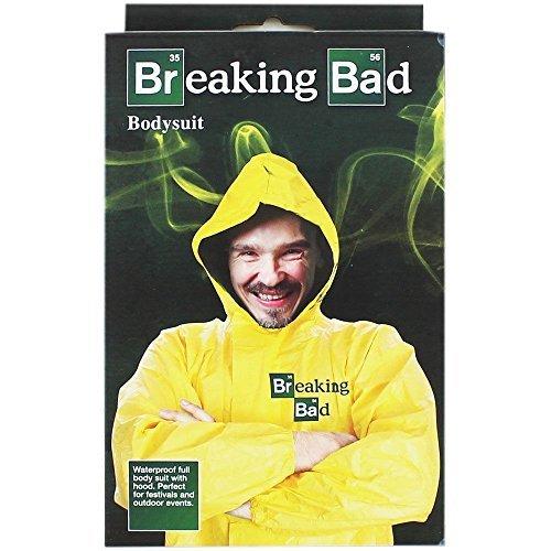 Breaking Bad Yellow Bodysuit Walter White Heisenberg Adult Fancy Dress Costume by - Breaking Bad Heisenberg Costume