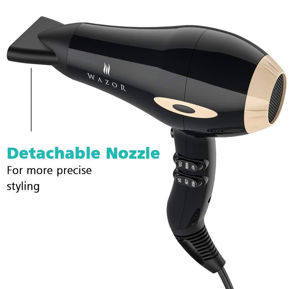 Wazor Professional Hair Dryer 1875w Negative Ionic Blow