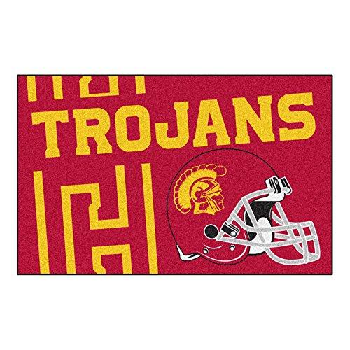 NCAA University of Southern California Trojans Starter Mat Rectangular Area ()
