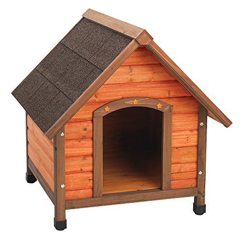 Ware Manufacturing Premium Plus A-Frame Fir Wood Dog Hous...