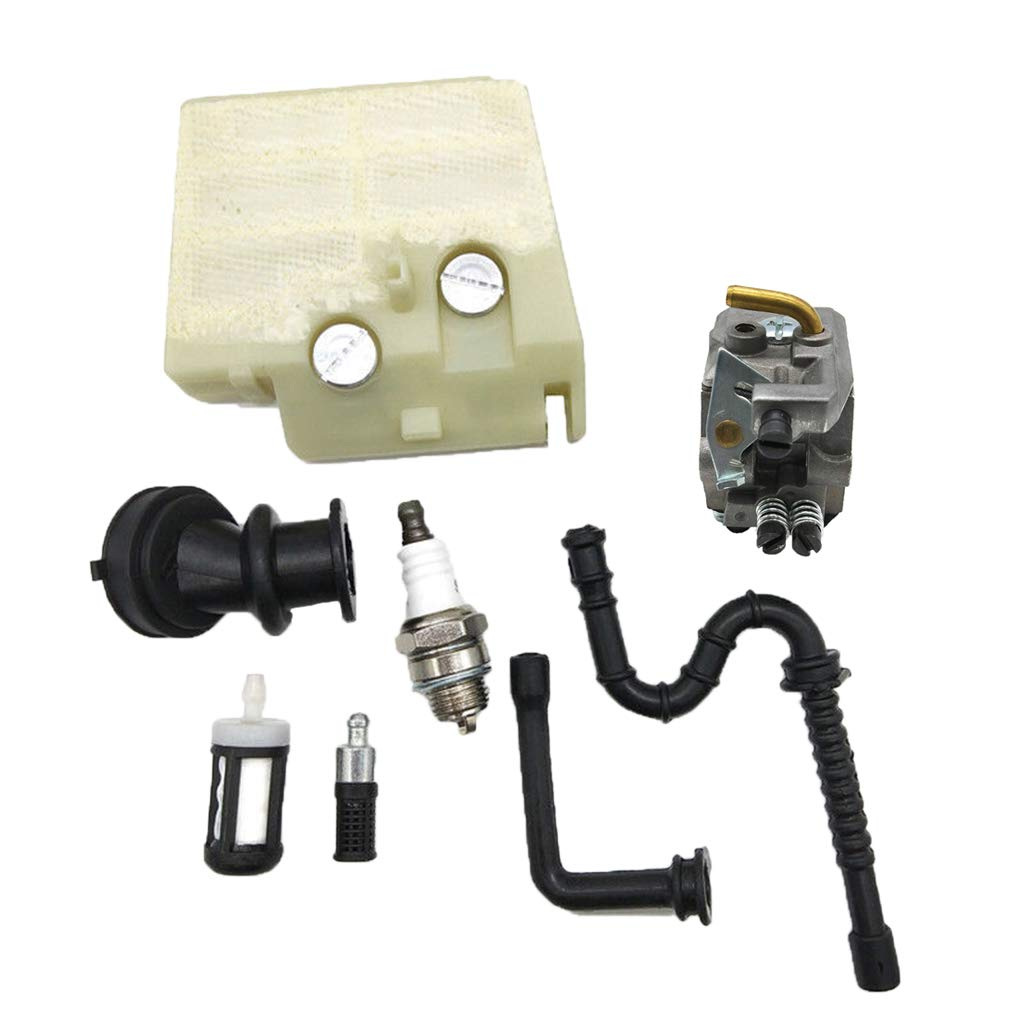 Oil Fuel Line Filter Kit Oil Pump Replacement Parts for STIHL MS240 MS260