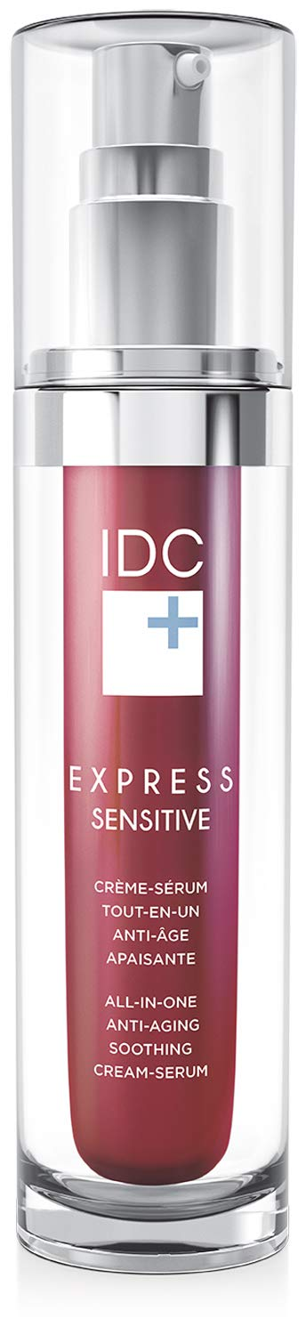 All-in-One Anti-Aging Cream Serum EXPRESS SENSITIVE to Soothe and Reverse Sensitive Skin by IDC DERMO IDCDERMO