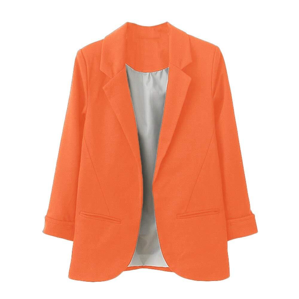 DCXSHG Blazer, Color Caramelo, Traje pequeño, Camisa sin botón ...