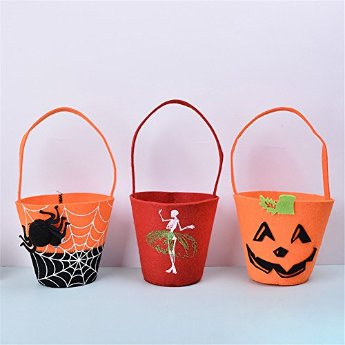 Shower Of Roses All Saints Day Costumes (MLM Halloween Kid Candy Bag Great for Halloween Trick-or-Treat Kids Children Candy Bag Handbag Birthday Party Halloween Witches Ghosts Bats Pumpkins Candy Bags Party Cosplay Storage HandBag)