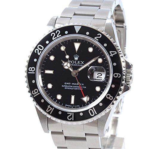 [ロレックス]ROLEX 腕時計 GMTマスター 16700BK/BK S番台(1993年) 中古[1304096] S番台(1993年) ブラック B07DPB2XM8