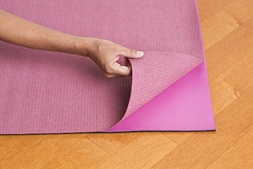 Hot Yoga Microfiber Mat Towel - Non Slip, Both Sides Grip - by Yogazorb - 25