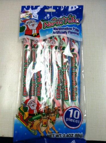 Santa's North Poles Marshmallow Poles 2.4oz ()