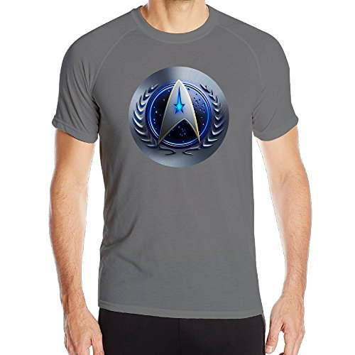 Men's Star Trek Icon New Quick Dry Athletic (Star Trek Icons)