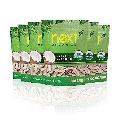 - Next Organics Dried Coconut 6 oz Bag (Pack of 6)