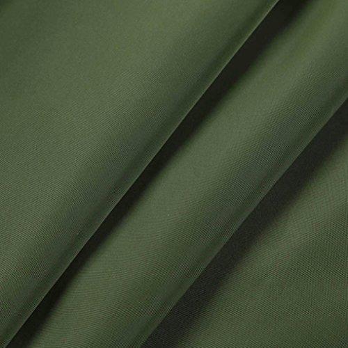 Cazadora WINWINTOM Capa Verde Capucha y Mujer Ligera Cremallera Chubasquero Impermeable con wwtrFqz
