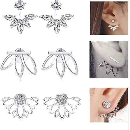 (Free Ship Deals Lotus Shaped Flower Earrings   Best Earrings for Women & Girls (3)