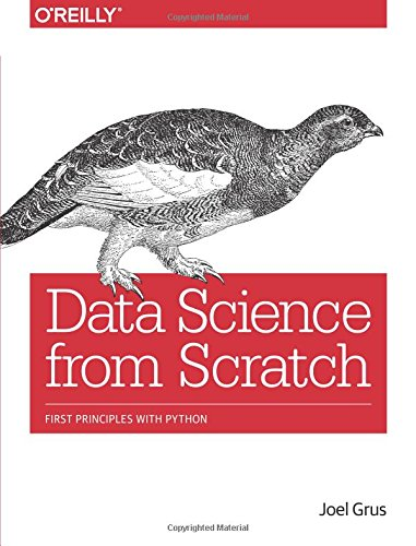 Data Science from Scratch: First Principles with Python cover
