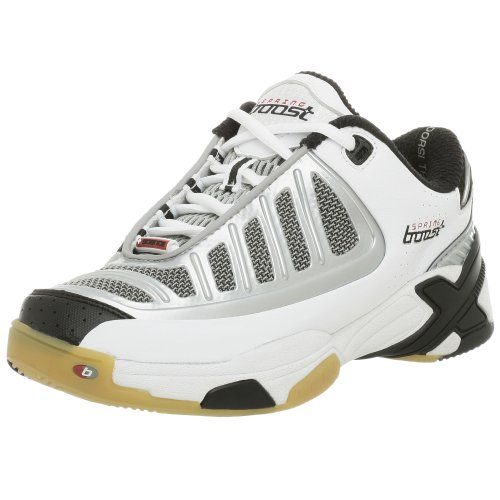 Springboost Womens B-Spike Volleyball Shoe White/Silver/Black idH6K8VKz