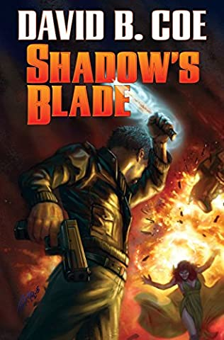 book cover of Shadow\'s Blade