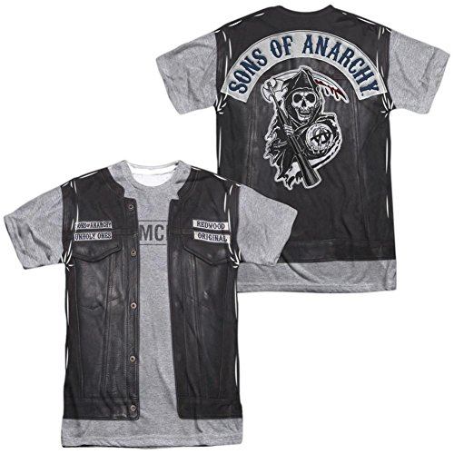(Sons Of Anarchy- Unholy Costume Tee (Front/Back) T-Shirt Size)