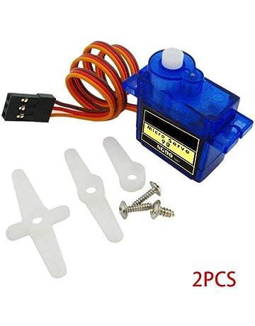 vkospy 2 Piezas / 4PCS / 6PCS / 25cm 10PCS 9g SG90 servo Micro 9G Motor