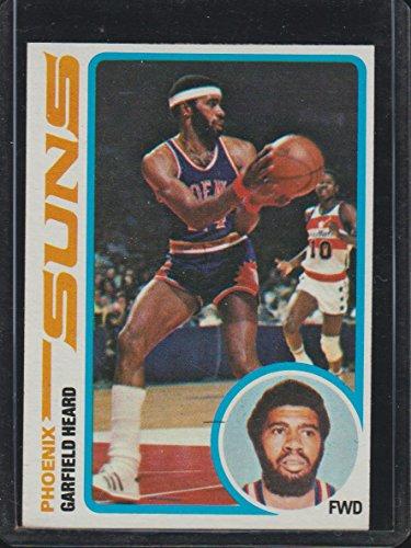 1978 Garfield - 1978 Topps Garfield Heard Suns Basketball Card #54