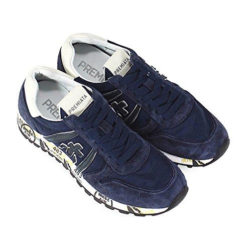 PREMIATA Zapatos de Mujer Zapatilla Sky-D 3107 Azul Primavera Verano 2018
