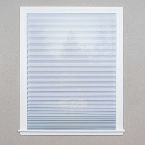 Redi shade sheer view cordless uv blocking 36 inch x 72 for 18 inch window blinds