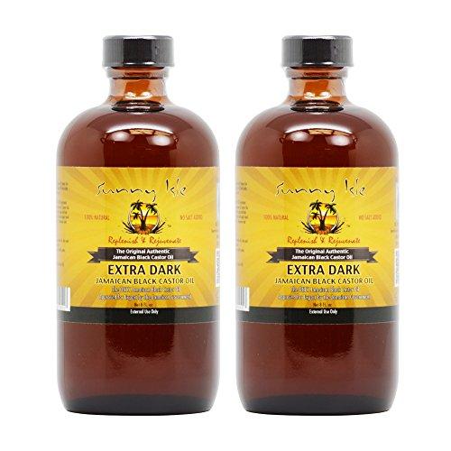 Sunny Isle Jamaican Black Castor Oil 8oz Extra Dark