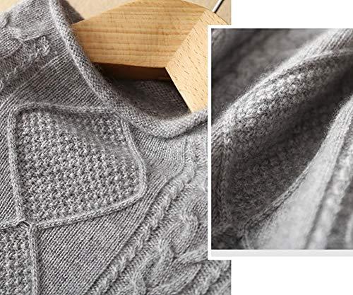 Maglione Donna Lunga Manica Dissa Grau xPqTwq1UY