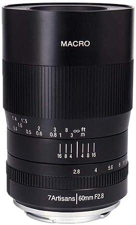 7artisans 60mm F 2 8 Macro F R Fuji X Kamera