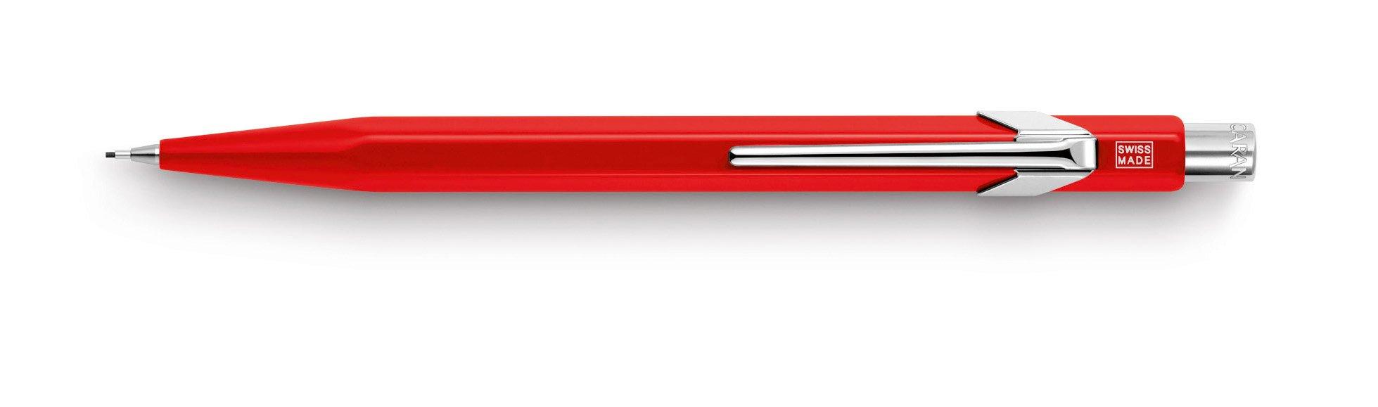 Caran Dache Creative Art Materials Metal 0.7 Portaminas Red