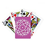 beatChong Totem Flower Pattern Geometry Poker Playing Card Tabletop Board Game Gift