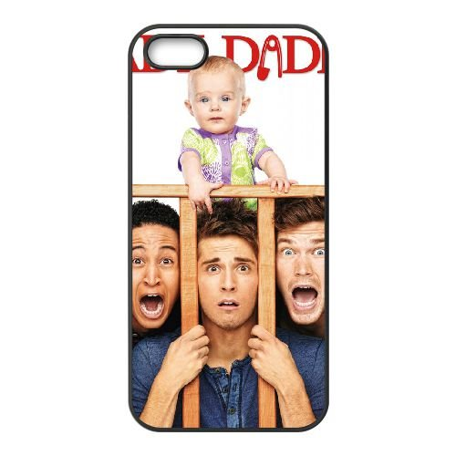 Baby Daddy 1 coque iPhone 4 4S cellulaire cas coque de téléphone cas téléphone cellulaire noir couvercle EEEXLKNBC23288