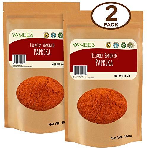 Yamees Smoked Paprika -Paprika Powder - Paprika Bulk - Smoked Paprika Powder - Smoke Paprika - Bulk Spices - 2 Pack of 16 Ounce Each