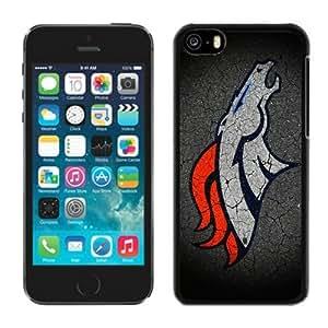 Custom Gift Special Iphone 5c Case NFL Denver Broncos 11 Team Logo Sports Cellphone Protector
