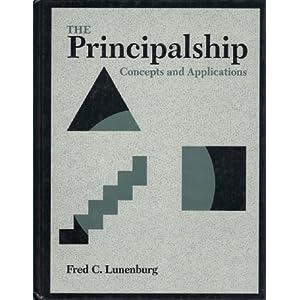 The Principalship: Concepts and Applications