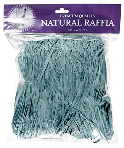 Top Raffia (SuperMoss (30001) Raffia, Williamsburg Blue, 2oz)